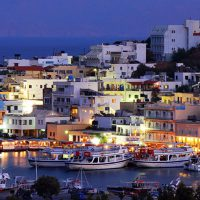 Elounda destination of boat cruise with sea and sun yacht charter in Crete cruises
